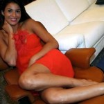 Andrea Bargnani's girlfriend Nabila Chihab