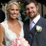 Ryan Moore and wife Nickie Olson