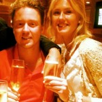 Jonas Blixt and his sister Caroline Blixt