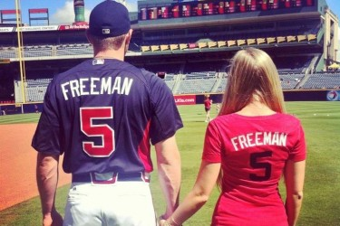 Freddie Freeman's girlfriend Chelsea Goff - Facebook