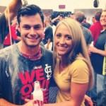Joe Kelly's girlfriend Ashley Parks - Twitter