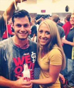Joe Kelly's girlfriend Ashley Parks