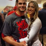 Joe Kelly's girlfriend Ashley Parks - Twitter