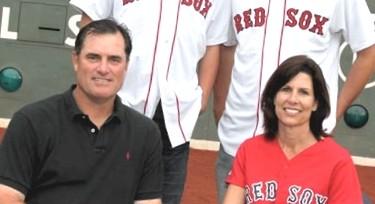 John Farrell's wife Sue Farrell