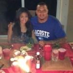 Mike Pouncey's girlfriend Kristian Wong - Twitter