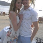Charlie White and Girlfriend Tanith Belbin