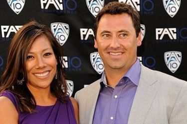 Steve Sarkisian's wife Stephanie Sarkisian - ImageOfSport.com