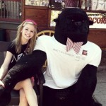Gracie Gold's Boyfriend Mr. Gorilla