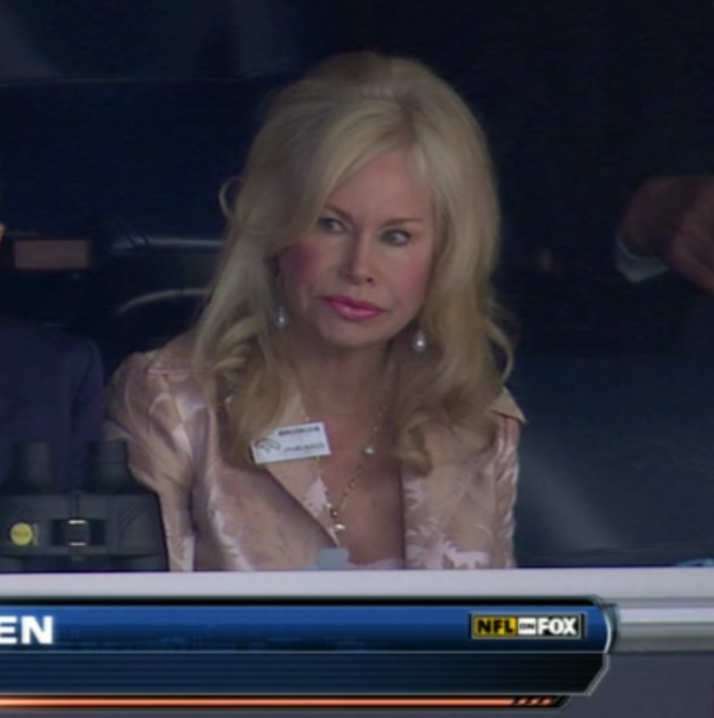 Pat Bowlen's wife Annabel Bowlen
