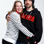 Charles Hamelin's girlfriend Marianne St-Gelais