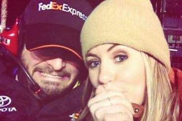 Denny Hamlin's girlfriend Jordan Fish - Twitter