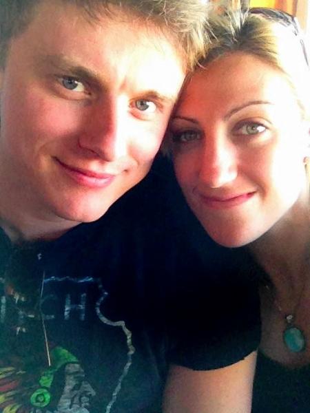 Jamie Greubel's fiancé Christian Poser