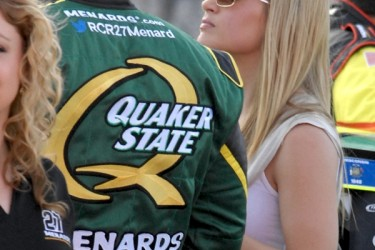 Paul Menard's wife Jennifer Roster Menard