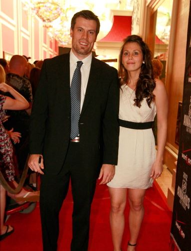 Shea Weber with beautiful, Wife Bailey Weber