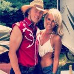 TJ Oshie's girlfriend Lauren Cosgrove - Twitter