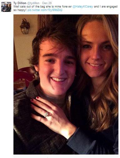 Ty Dillon's wife Haley Dillon