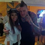 Chris Andersen's girlfriend Tina Wiseman - Twitter