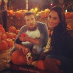 Daniel Bryan's girlfriend Brie Bella - Twitter