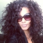 Hakeem Nicks girlfriend Ariel Meredith - Twitter