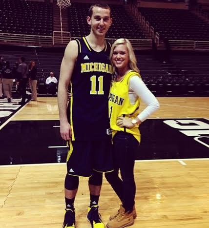 Nik Stauskas' girlfriend Taylor Anderson