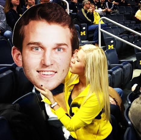 Nik Stauskas' girlfriend Taylor Anderson