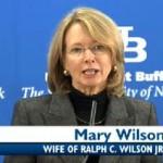 Ralph Wilson's wife Mary Wilson