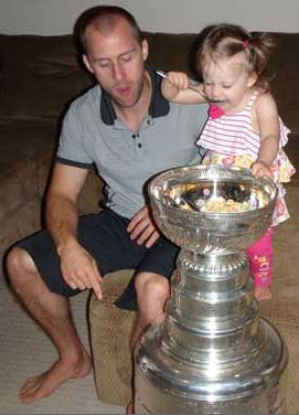 Rich Peverley's daughter Isabelle Peverley - HHOF.com