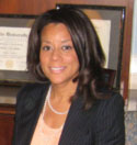 Tommy Amaker's wife Stephanie Pinder-Amaker - Harvard / McClean Hospital