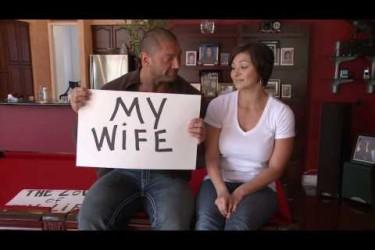 Dave Bautista's wife Angie Bautista