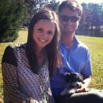 Harris English's girlfriend Becca Caldwell - Instagram