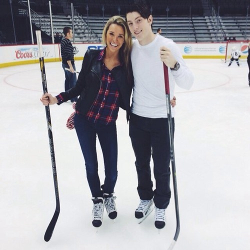 Matt Duchene's girlfriend Ashley Grossaint