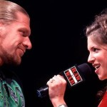 Triple-H's wife Stephanie McMahon - WWE Monday Night Raw