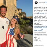 Derek Carr's wife Heather Carr - Instagram