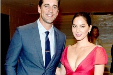 Aaron Rodgers girlfriend Olivia Munn