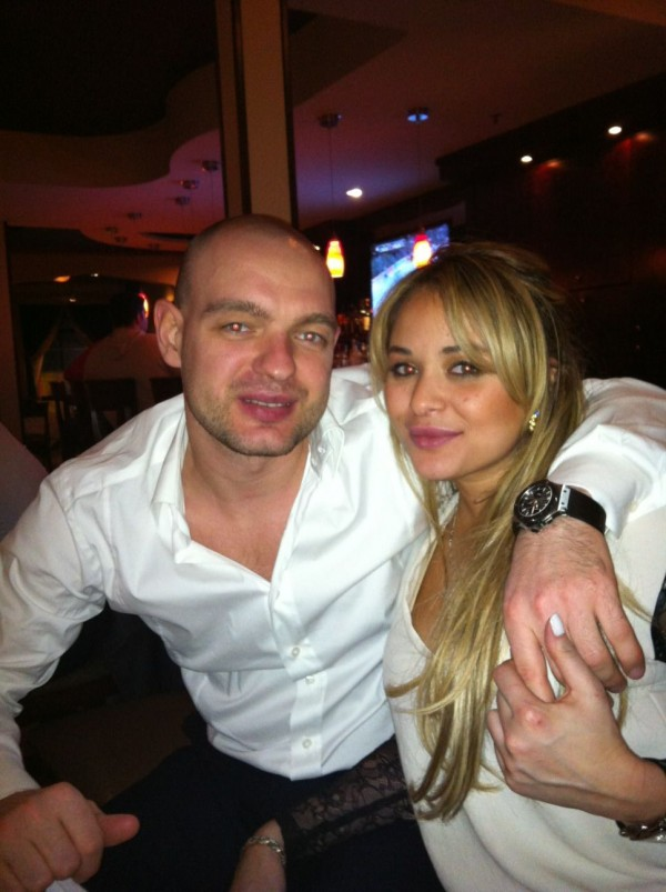 Andrei Markov's girlfriend Carolina Montes