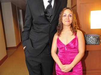 Luis Scola's wife Pamela Scola - HoustonCultureMap.com