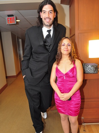 Luis Scola's wife Pamela Scola