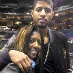 Paul George mother Paulette George