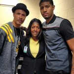 Paul George mom Paulette George