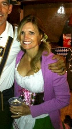 Steve Kerr's wife Margot Kerr
