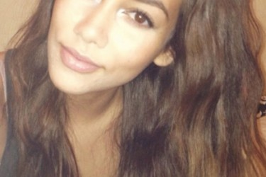 Cory Joseph's girlfriend Stefanie Gazmin - Twitter