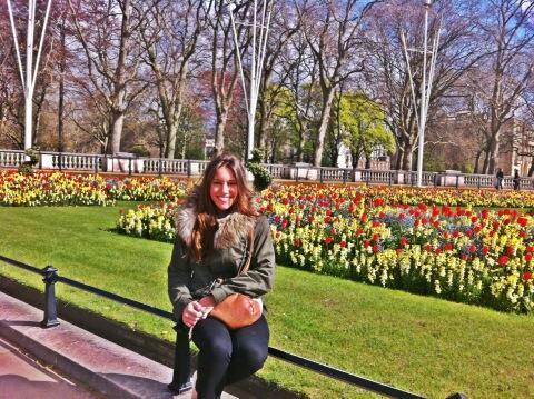 David Luiz's Girlfriend Sara Madeira