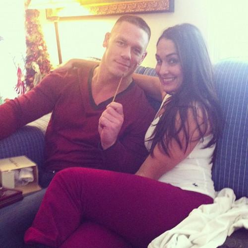 John Cena's girlfriend Nikki Bella - Player Wives ...
