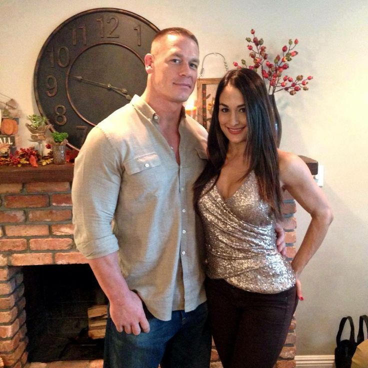 John Cena's girlfriend Nikki Bella is gonna spend some time striking ...