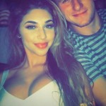 Johnny Manziel's girlfriend Chantel Jeffries - Instagram
