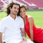 Kyle Beckerman's wife Kate Beckerman - Bride & Groom Magazine