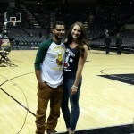 Patty Mills girlfriend Alyssa Levesque - Twitter