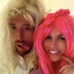 Peter Crouch's wife Abbey Clancy - Twitter
