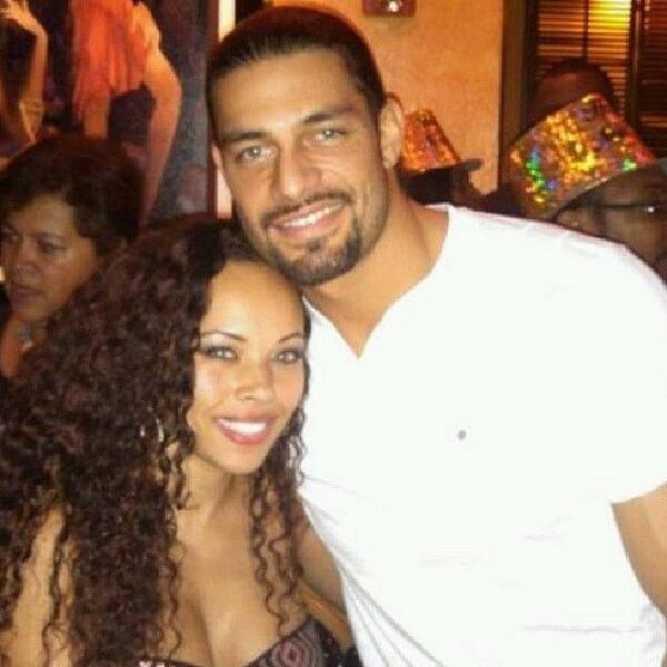 Roman Reigns' wife Galina Becker