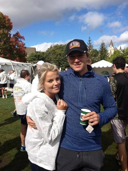 Tyler Toffoli's girlfriend Taylore Bryce